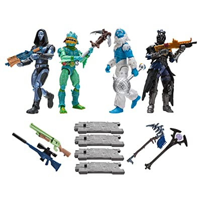Fortnite Squad Mode 4-Figure Pack, Series 2: Toys & Games