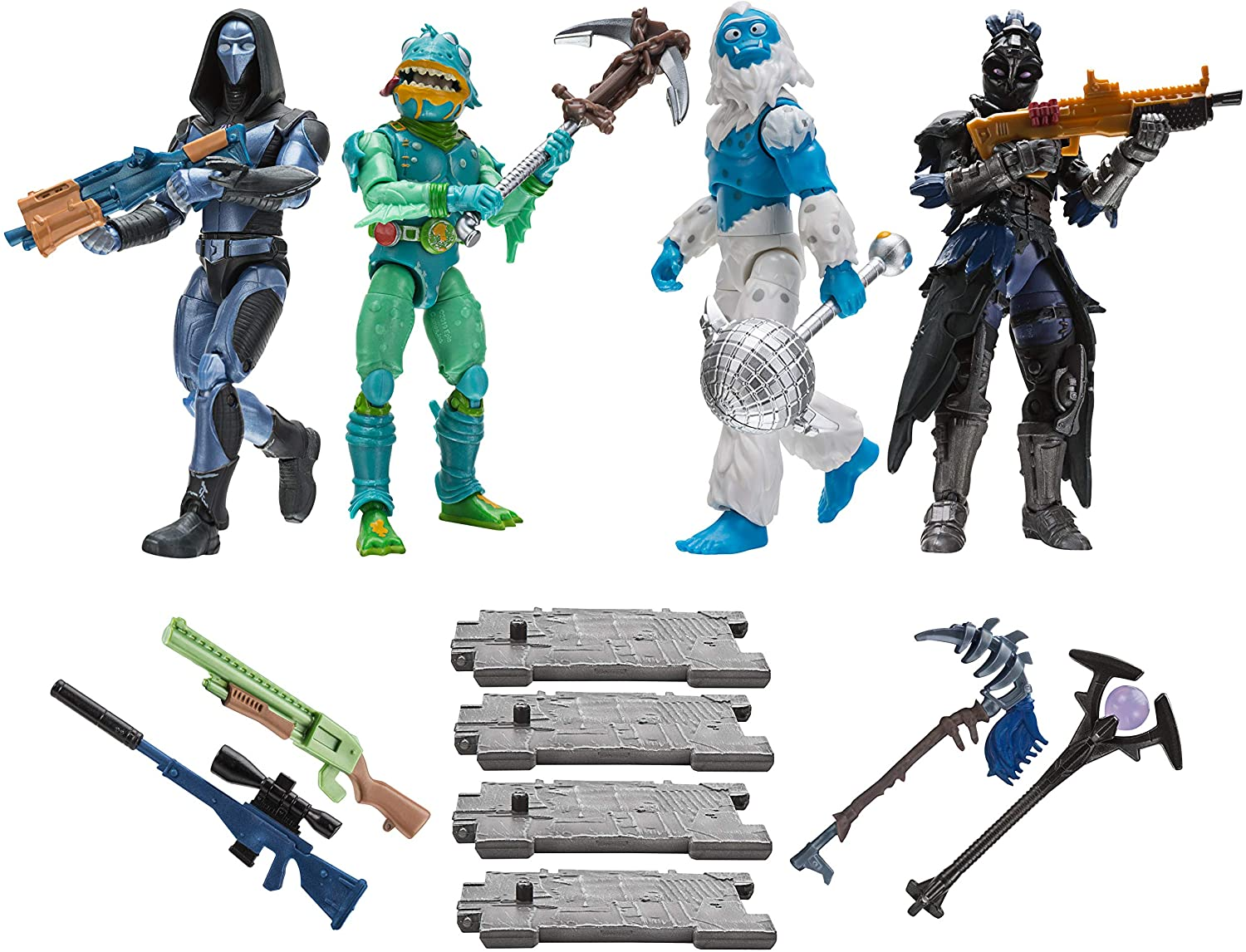 Fortnite Squad Mode Action Figures 4 Pack New