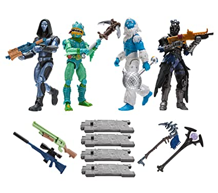 Toy Partner 2 Pack 4 FIGUAS FORTNITE Squad Mode Core, Serie 2, 10 CM, Multicolor (FNT0109)