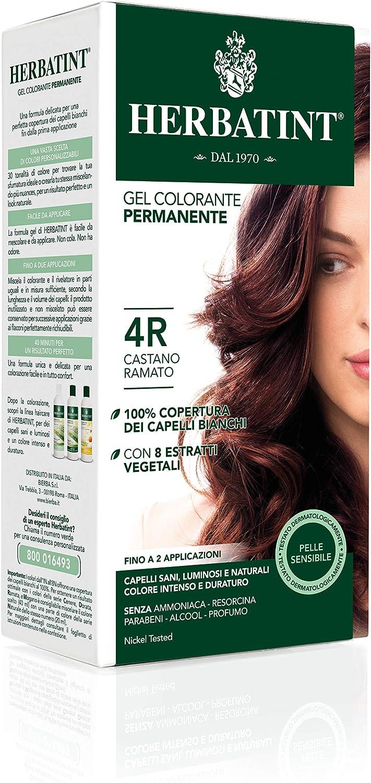 Phytoceutic Herbatint 4R/Castaño Cobre Gel Permanent 120 ml