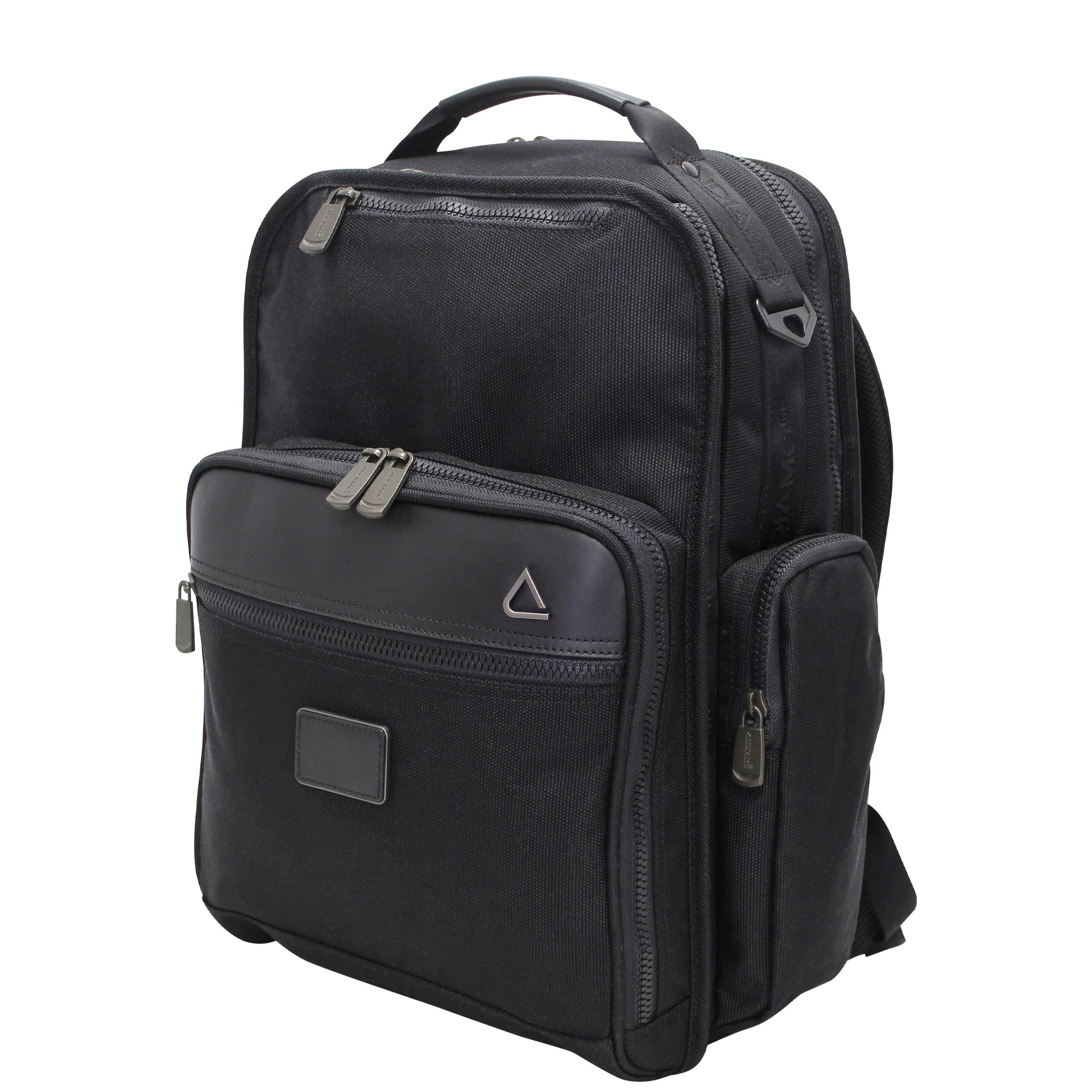 Andiamo Avanti Collection Business Backpack, Midnight Black, One Size