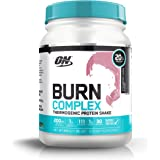 Optimum Nutrition Burn Complex Thermogenic Protein Powder, Strawberry Shake - 885 Grams