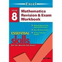 Excel Essential Skills: Mathematics Revision & Exam Workbook Year 8