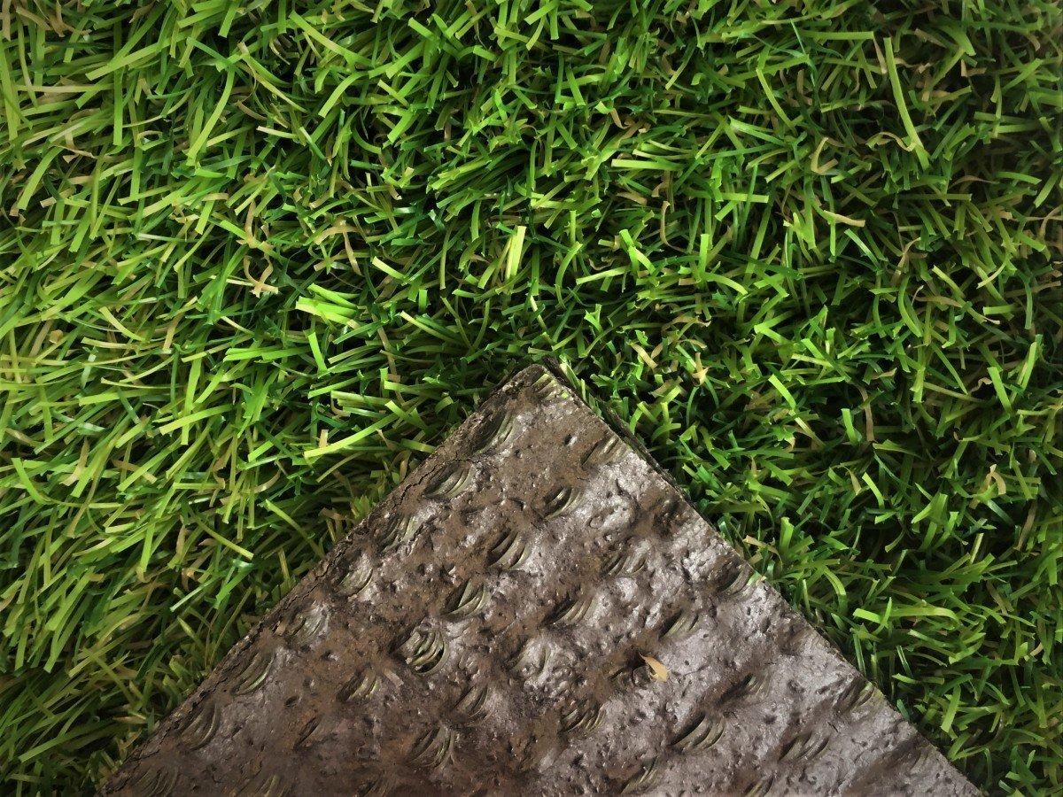 Deluxe Deluxe Deluxe Kunstrasen Tahiti - 32 mm 2.200 g m²   Rasentepppich nach Maß   100% Polyethylen   sehr strapazierfähig   Indoor Outdoor   für Garten, Terrasse, Balkon, Camping, Farbe Grün, Größe 200 x 300 cm 1a238b