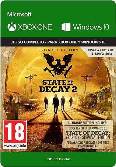 State of Decay 2 - Xbox One - Código de descarga: Amazon.es ...