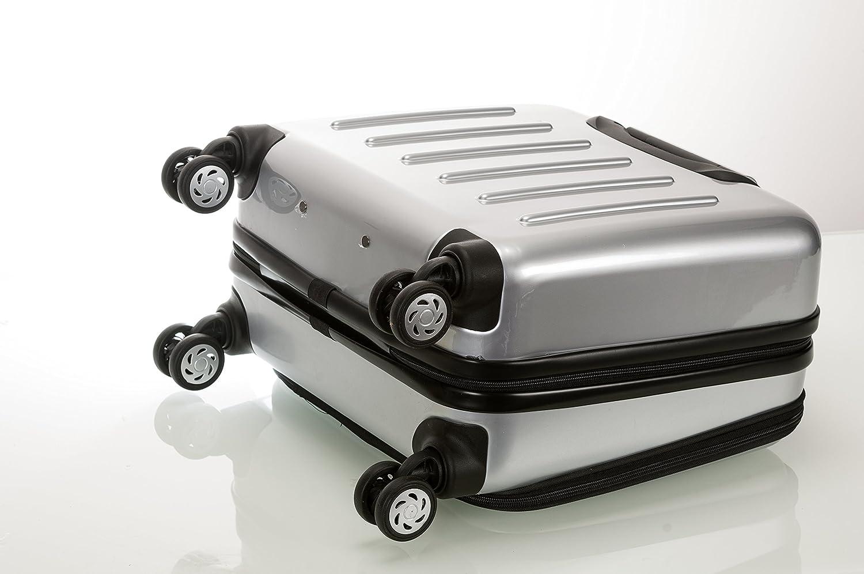 Rockland Revolution Rolling Computer Case Silver Fox Luggage BF29-SILVER