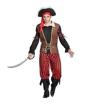 Banyant Toys, S.L. Disfraz DE Pirata Rayas Hombre: Amazon.es ...
