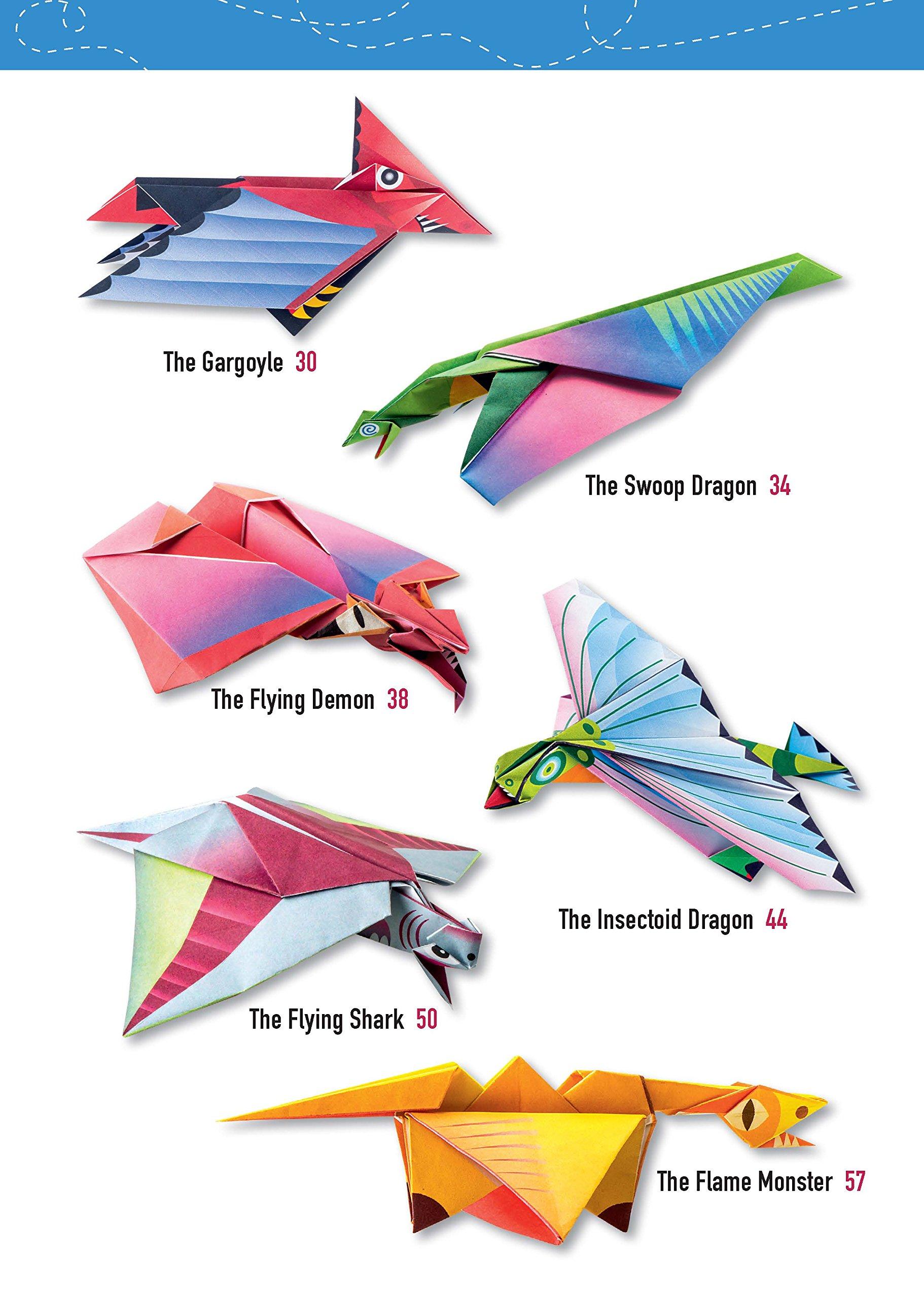 Origami dragon Ender Minecraft by Hare_ru - Yakomoga Origami tutorial -  YouTube | 2560x1822