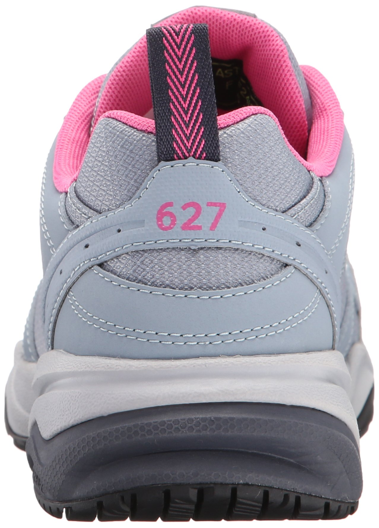 New Balance Women's WID627V1 Steel Toe Training Work Shoe,Light Grey/Pink,8 B US by New Balance (Image #2)