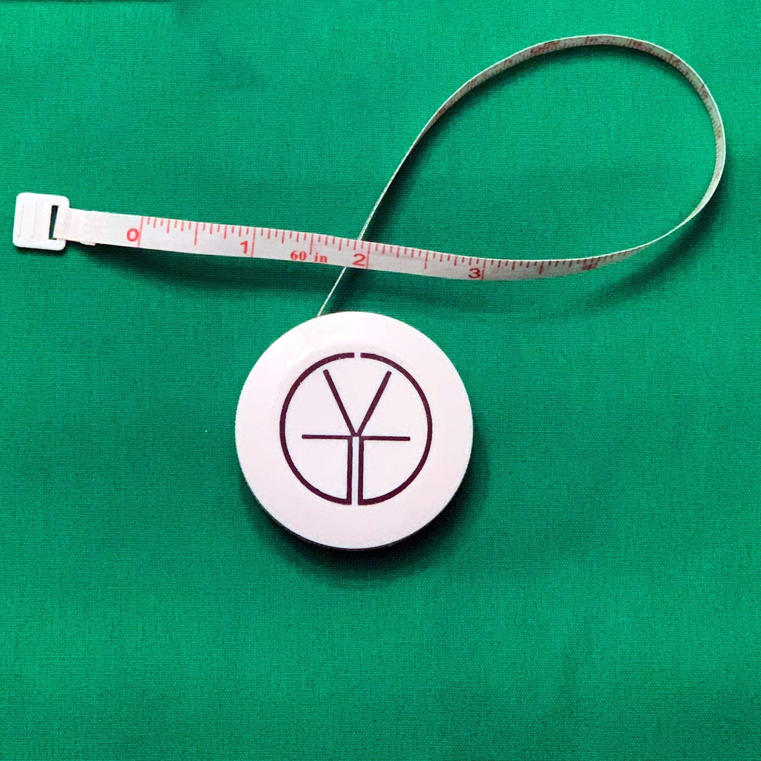Tape Measure for Body Measurements Cloth Measuring Tape for Sewing Tailor Fabric Retractable Dual Sided White