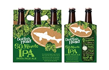 Dogfish Head 60-Minute IPA, 6 pk, 12 oz Bottles, 6%