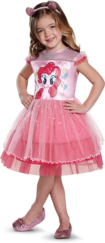 Pinkie Pie Movie Toddler Classic Costume, Pink, Medium (3T-4T)