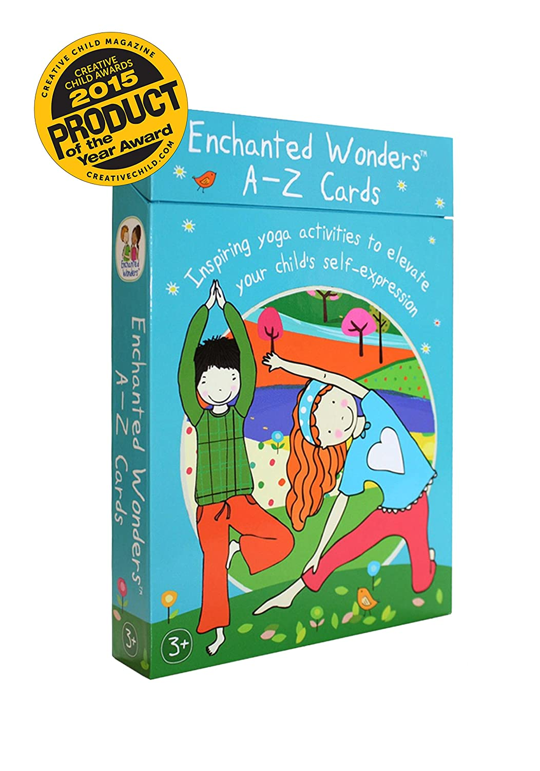 1art1 - Póster de ABC-Yoga para niños de Enchanted Wonders ...