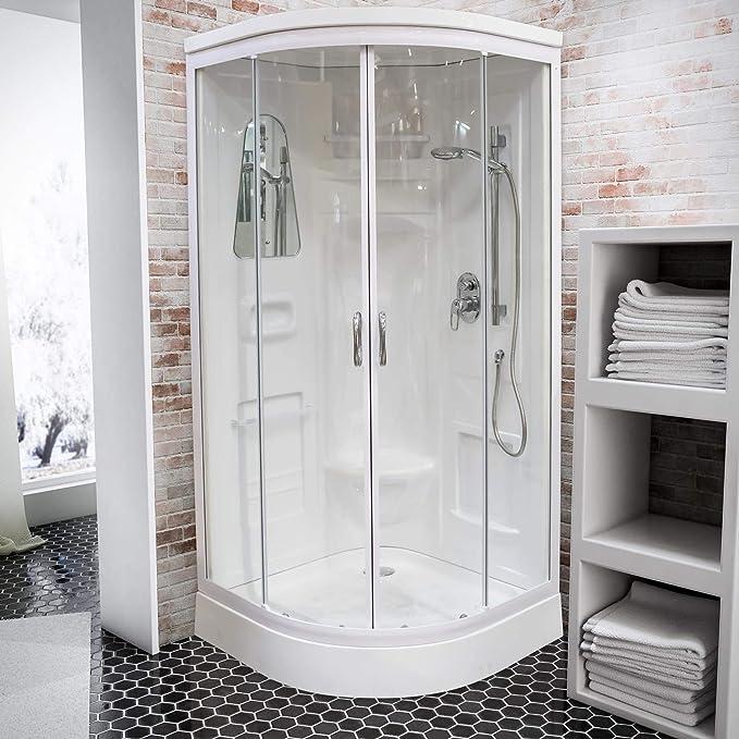 Cabina de ducha completa cerrada Helgoland III, cabina de ducha ...