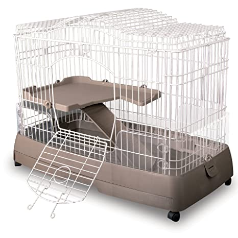 Ware fabricación Nivel 2 Clean Vida Jaula para Mascotas ...