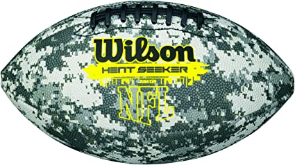 Wilson Heat Seeker Balón de fútbol Americano, niños, marrón, Talla ...