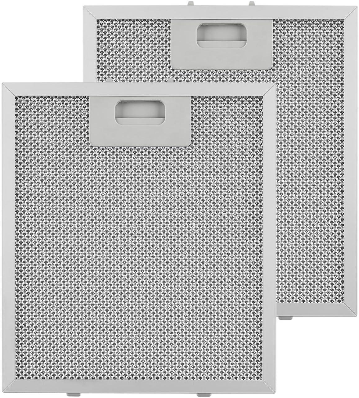 Klarstein Filtro antigrasa de aluminio - Filtro de recambio, Accesorio para campanas Klarstein 10028532,10030176 y 10031996, Medidas 23 x 26 cm: Amazon.es: Hogar