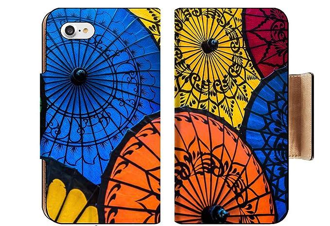 Amazon com: MSD Apple iPhone 8 Flip Pu Wallet Case Image