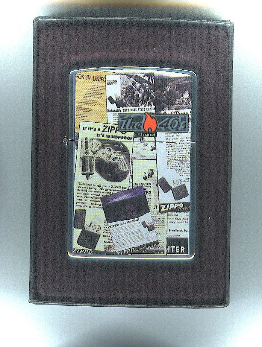 Original Zippo Feuerzeug The 50's