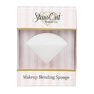StansOut Beauty Company, Blending Sponge, Memory Foam Makeup Sponge