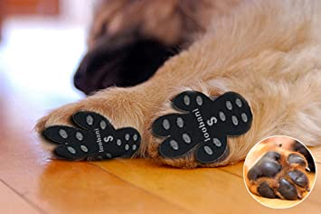 amazon com loobani 48 pieces dog paw protector traction pads to