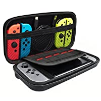 Deals on PECHAM Travel Carrying Case for Nintendo Switch Accessories