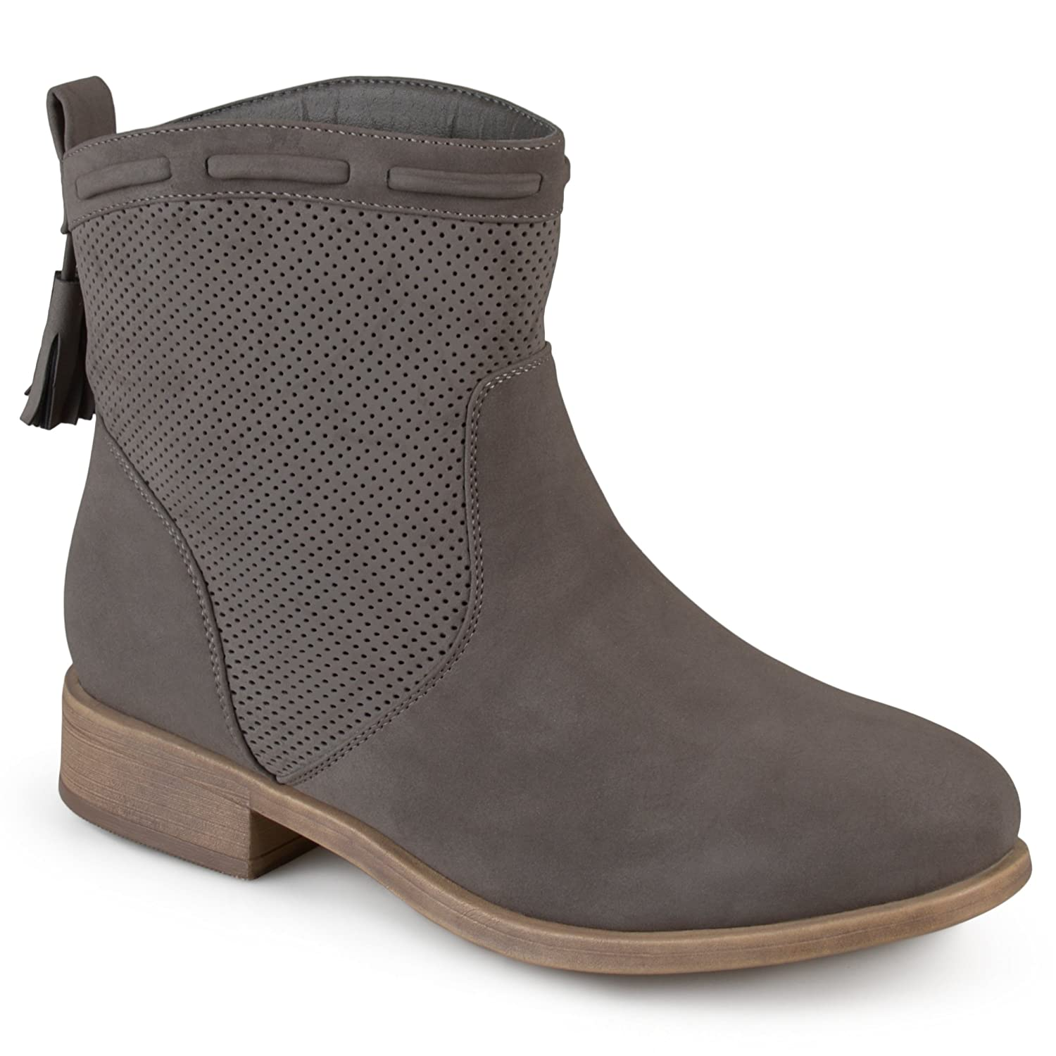 Journee Collection Womens Round Toe Tassled Boots