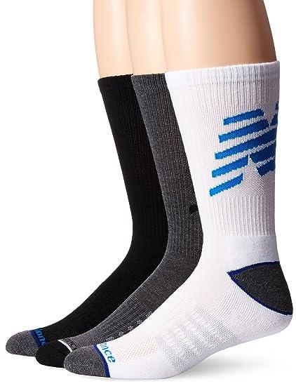 new balance mens white socks
