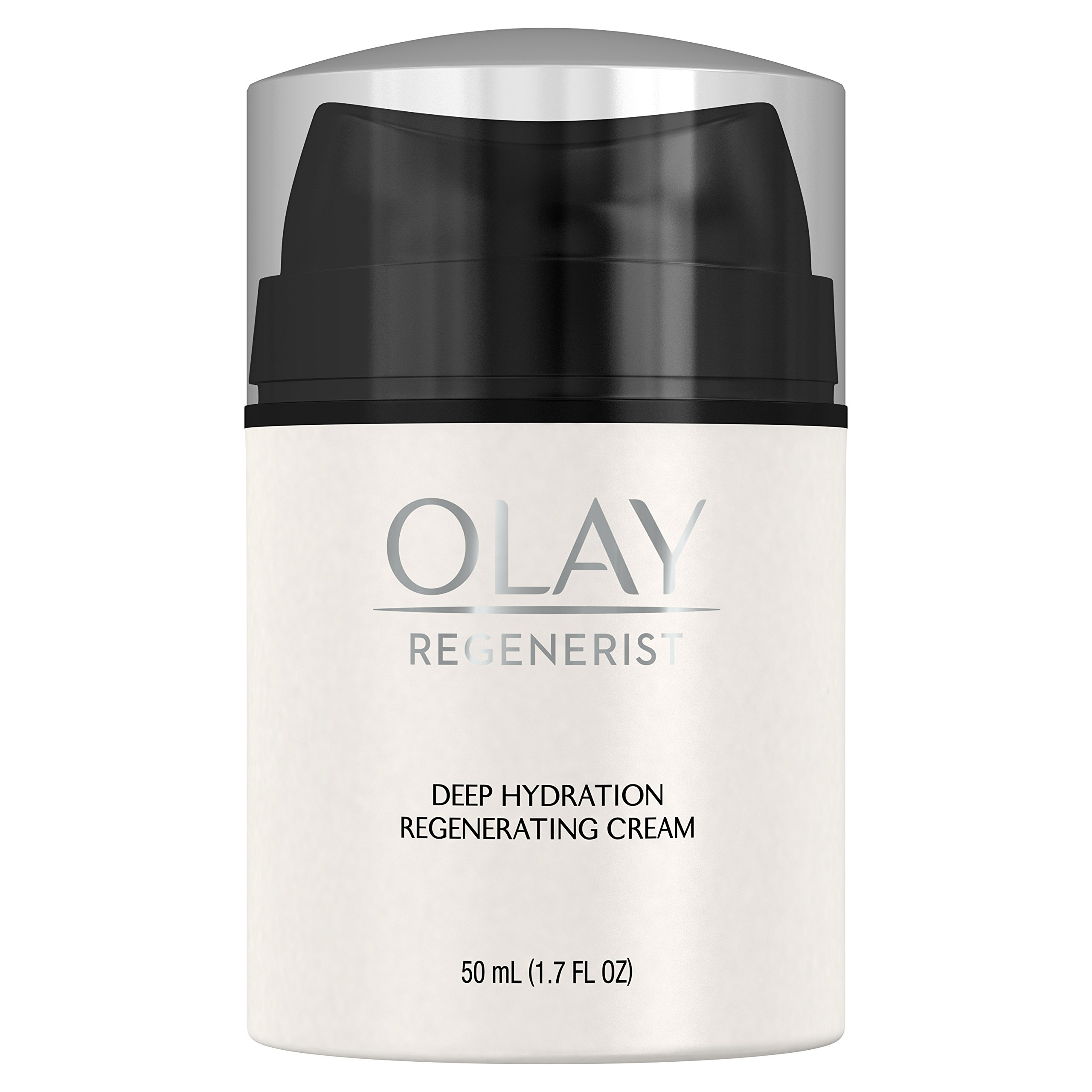 Face Moisturizer by Olay Regenerist Regenerating Deep Hydration Cream Moisturizer with Vitamin E, 50 ml Packaging may Vary by Olay