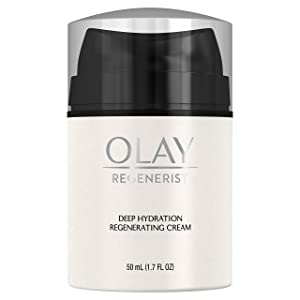 Face Moisturizer by Olay Regenerist Regenerating Deep Hydration Cream Moisturizer with Vitamin E, 50 ml Packaging may Vary