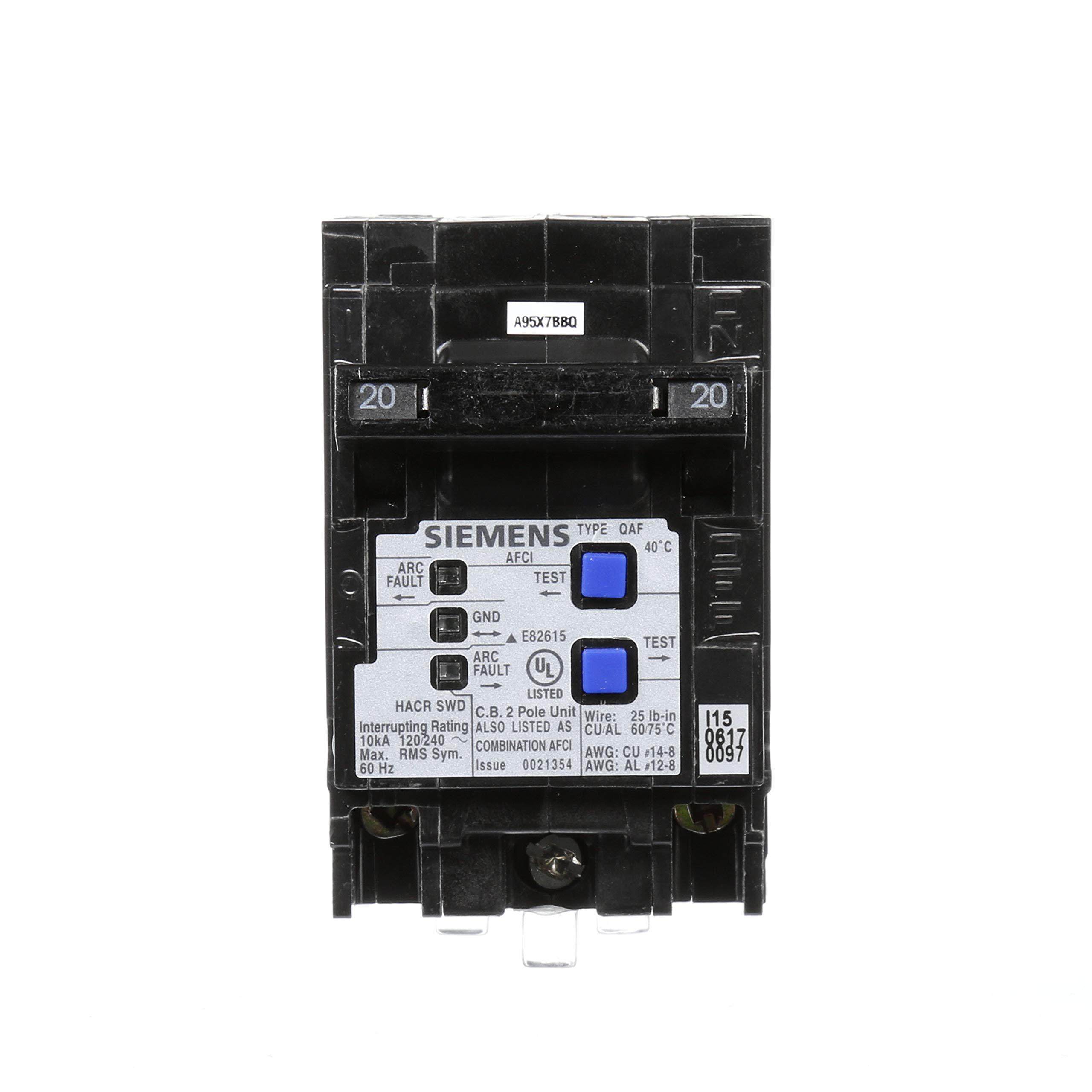 Siemens Q215AFCP 2-Pole 120-Volt combination type arc fault circuit interrupter by SIEMENS (Image #2)