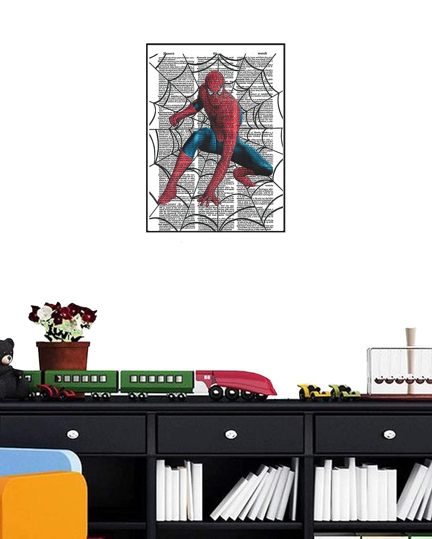 Amazon.com: Spiderman superhéroe Marvel Comic diccionario ...