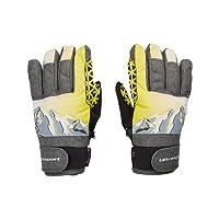 Ultrasport Gants de ski pour enfant Rocky, gants flexibles pour enfants avec large liberté de mouvements, étanches, coupe-vent, pour enfants de 6-14ans