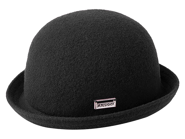 Kangol Unisex Bowler Hat Wool Bombin - black