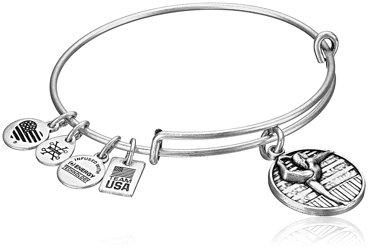 bracelet gold usa expandable bangal rafaelian gymnastics amazon alex team bangle jewelry com dp ani and
