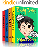 Books for Kids: BODY SWAP - Boxed Set - Books 2 - 4 (Book 1 is FREE to download separately): A Very Funny Book for Boys…