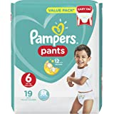 Pampers Pants Diapers, Size 6, Carry Pack - 16+ kg, 19 Count