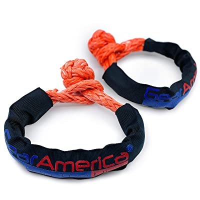"""GearAmerica ½"""" Synthetic Soft Shackles (2PK) 