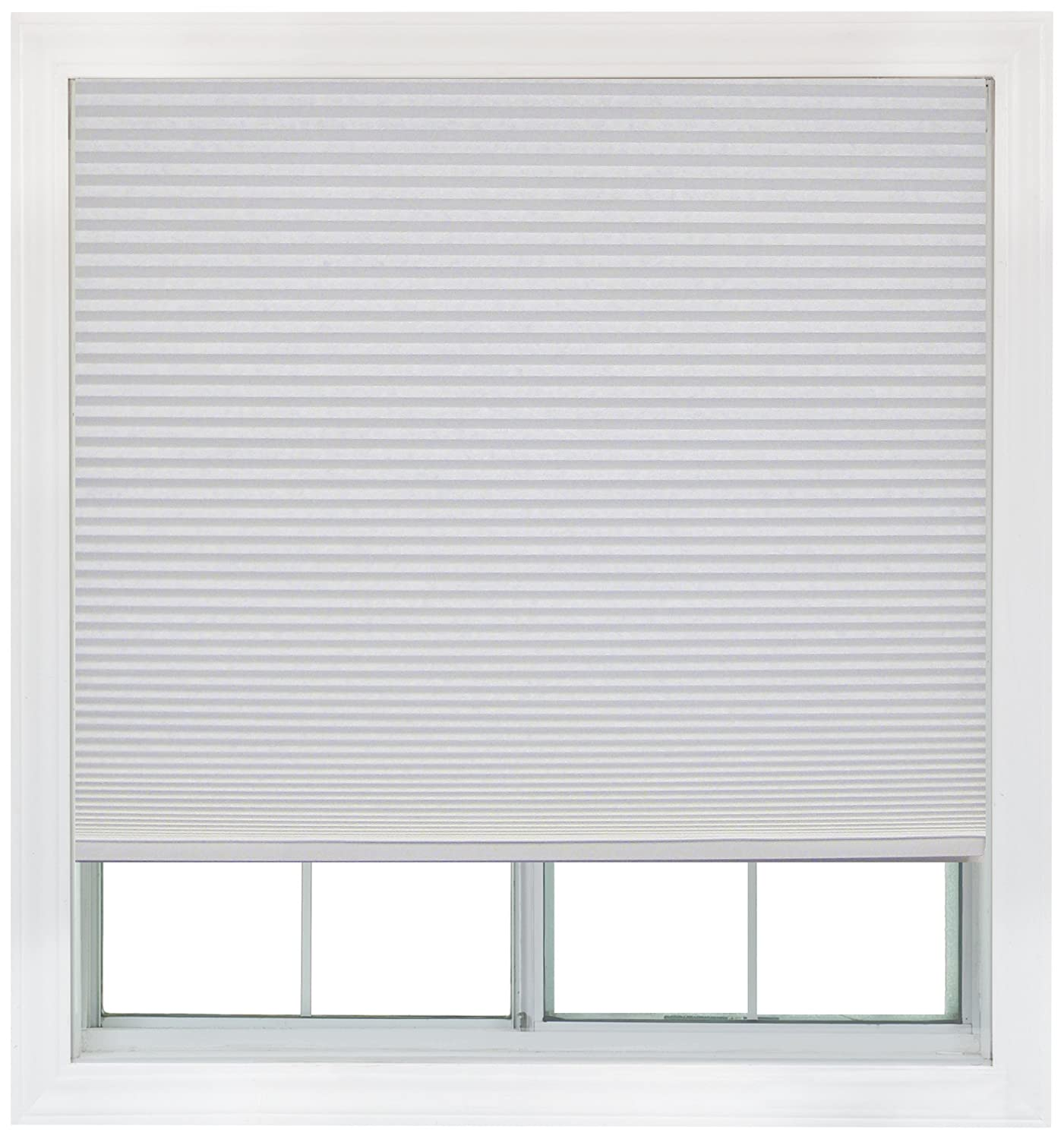 36 inch window blinds - Amazon Com Easy Lift 36 Inch By 64 Inch Trim At Home Fits Windows 21 Inches To 36 Inches Wide Cordless Honeycomb Cellular Shade Light Filtering