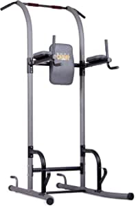 Body Champ VKR1010 Fitness Multi Function Power Tower | Dip, Stands, Pull Up, Push up VKR | Grey
