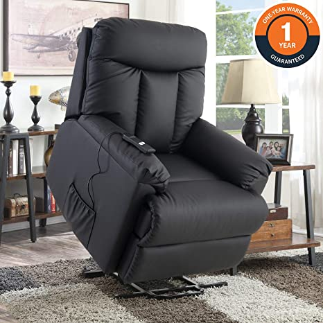 Miraculous Lift Chair For Elderly Lift Recliner Sofa Power Lift Recliner Chair Upholstered Pu With Remote Control For Living Room Gmtry Best Dining Table And Chair Ideas Images Gmtryco