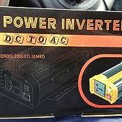 WZTO 600W Inversor de Corriente DC 12V a AC 220V-240V Convertidor ...