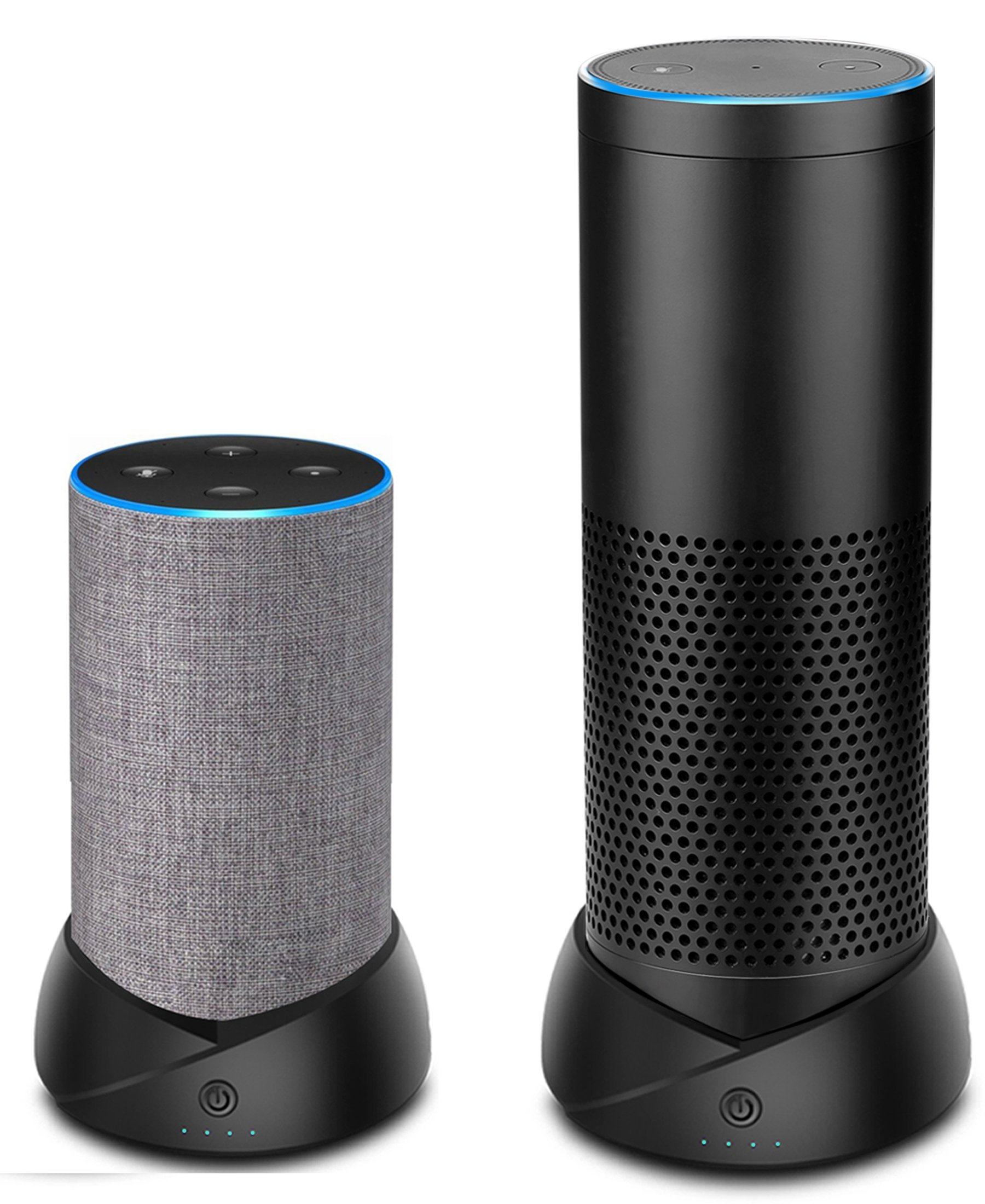 Portable Battery Base for Amazon Echo (2nd Generation) and Echo Plus,Battery Base Makes Them Portable