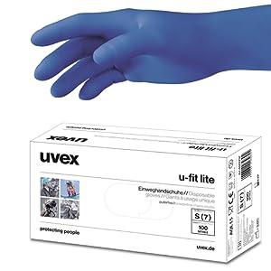 Uvex 60597 XL U-fit Lite Gant de sécurité, taille : XL, Bleu indigo