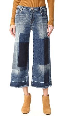 J Brand Women's Liza Mid Rise Culotte Jeans, Optimum, ...