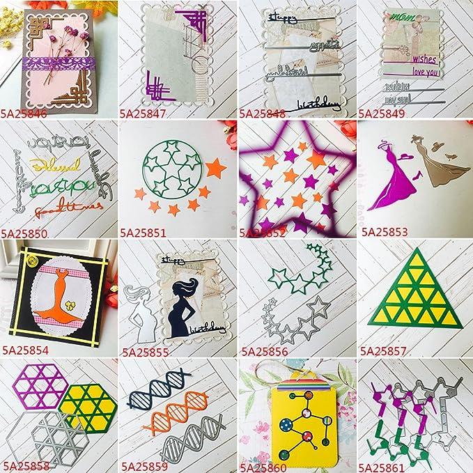 Cutting Esto relieve lonen/ Sirena ni/ña Cortes Plantillas /Troqueles Plantillas Papel Tarjetas /Álbum De Recortes Decoraci/ón