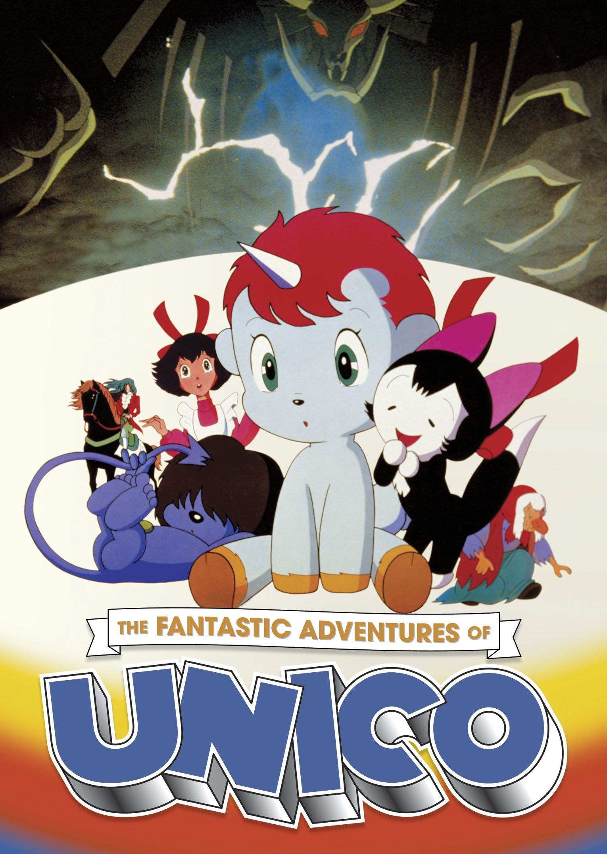 DVD : Janet Waldo - The Fantastic Adventures Of Unico (DVD)
