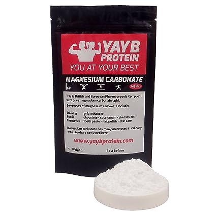 YAYB - Tiza en Polvo de magnesio y carbonato de 50 g, para ...