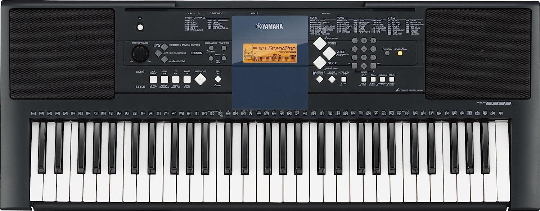 Yamaha PSR-E333 Teclado electrónico de 61 Teclas sensibles al Tacto