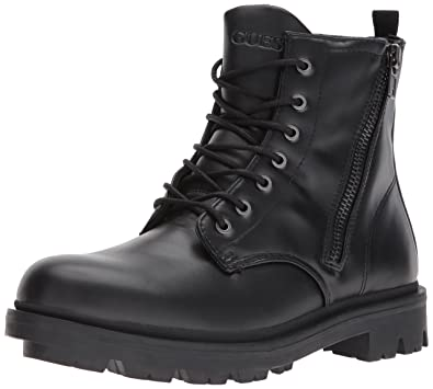 9328acad9ac8ee Amazon.com | GUESS Men's Archibald Combat Boot | Motorcycle & Combat